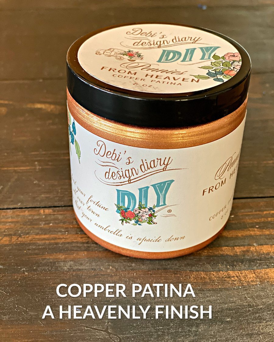 Copper patina 1