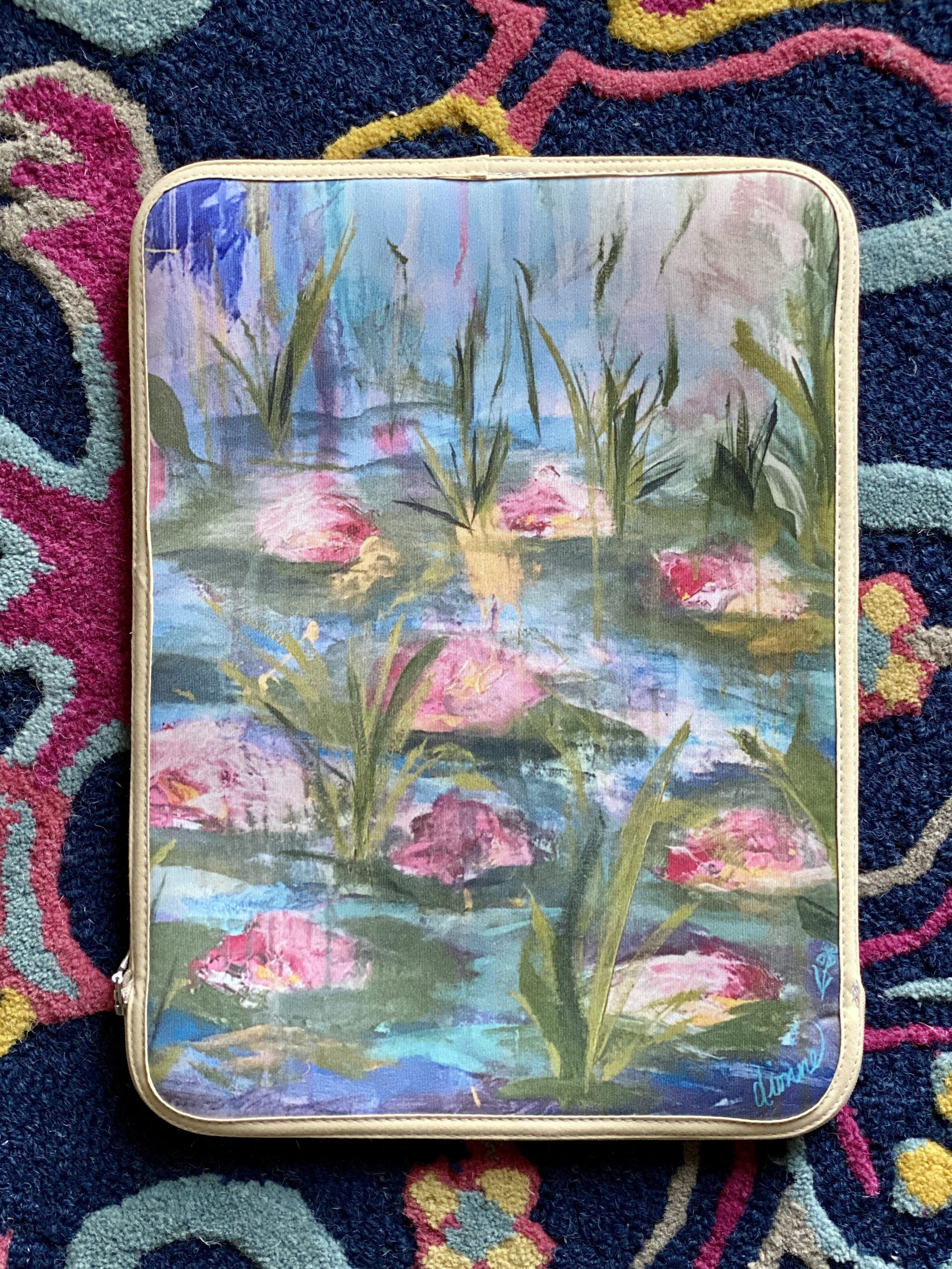 Lily MacBook Cover 1