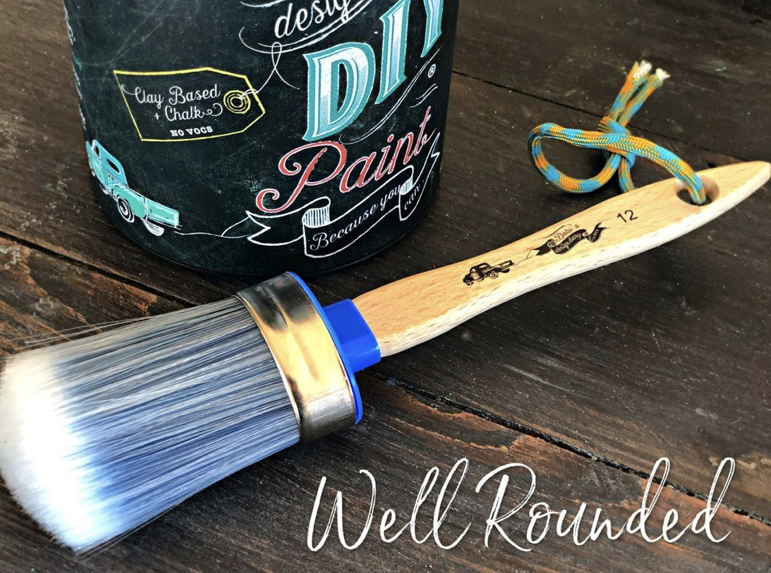 well rounded diy brush