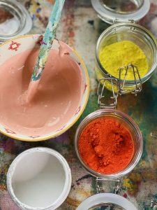 Dreamsicle Color Recipe Elements