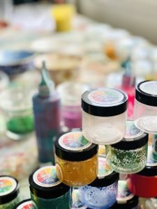 Paint Pigment Powders - DIY Paint Making Powders in Jars