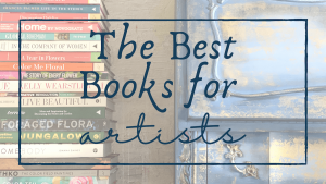 header image: the best books for artists